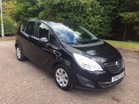 USED 2010 60 VAUXHALL MERIVA 1.4T S 5d 119 BHP 6 MONTHS PARTS+ LABOUR WARRANTY+AA COVER