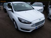 USED 2016 16 FORD FOCUS 1.0 ZETEC 5d 124 BHP ECOBOOST THIS VEHICLE IS AT SITE 1 - TO VIEW CALL US ON 01903 892224