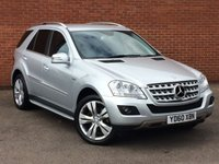 USED 2010 60 MERCEDES-BENZ M CLASS 3.0 ML300 CDI BLUEEFFICIENCY SPORT 4X4 5d AUTO 204 BHP