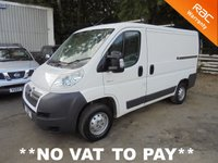 USED 2006 56 CITROEN RELAY 2.2 30 L1H1 100 SWB **NO VAT TO PAY**