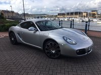USED 2009 09 PORSCHE CAYMAN 2.9 24V 2d 265 BHP 1 OWNER FROM NEW! FULL PORSCHE SERVICE HISTORY!