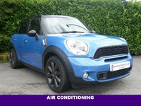 2014 MINI COUNTRYMAN 1.6 COOPER S CHILLI PACK 5d 184 BHP £12995.00