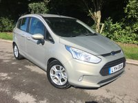USED 2014 14 FORD B-MAX 1.4 ZETEC 5d 89 BHP * 1 Private Owner From New*
