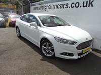USED 2015 FORD MONDEO 2.0 TITANIUM TDCI 5d 177 BHP Ford Then One Owner 19000 Miles Navigation+Phone