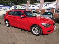 USED 2013 13 BMW 1 SERIES 1.6 116D EFFICIENTDYNAMICS 3d 114 BHP 0% FINANCE AVAILABLE CALL 0% FINANCE AVAILABLE CALL 01204 317705