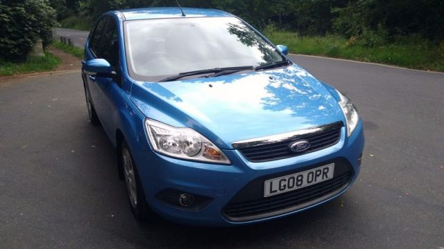 2008 08 FORD FOCUS 1.6 STYLE 5d AUTO 100 BHP
