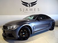 USED 2013 63 BMW 4 SERIES 3.0 435D XDRIVE M SPORT 2d AUTO 309 BHP