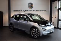 USED 2015 15 BMW I3 0.6 I3 RANGE EXTENDER 5DR AUTO 168 BHP + HALF GREY LEATHER INTERIOR + FULL BMW SERVICE HISTORY + 1 OWNER FROM NEW + BUSINESS SATELLITE NAVIGATION + BLUETOOTH + HEATED SEATS + DAB RADIO + COMFORT PACKAGE + CONNECTED DRIVE SERVICE + 19 INCH ALLOY WHEELS +