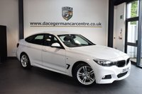 USED 2015 15 BMW 3 SERIES 2.0 320D M SPORT GRAN TURISMO 5DR AUTO 181 BHP + FULL BLACK LEATHER INTERIOR + 1 OWNER FROM NEW + BUSINESS SATELLITE NAVIGATION + BLUETOOTH + SPORT SEATS + DAB RADIO + CRUISE CONTROL + PARKING SENSORS + 18 INCH ALLOY WHEELS +