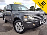 USED 2002 LAND ROVER RANGE ROVER 2.9 TD6 HSE 5d 175 BHP! p/x welcome! AUTO! 2 OWNERS! XENON! FULL CREAM LEATHR! SENSOR (F+R)! CRUISE & CLIMATE! SERVICE HISTORY! LOW MILES! NEW MOT & SRVC!  ELECTRIC MEMORY SEATS! 6 CD CHANGER! PRIVATE PLATE S8 WTF!!! FULL SPECS!  BROWSE ME!