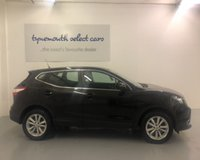 USED 2014 14 NISSAN QASHQAI 1.5 DCI ACENTA 5d 108 BHP Superb NEW MODEL in factory black with blue tooth,alloy wheels,-ONLY 58,000 miles with Full Service History