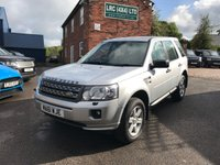 USED 2011 61 LAND ROVER FREELANDER 2.2 TD4 GS 5d 150 BHP This vehicle comes fully serviced, with a 6 MONTHS renewable warranty,12 Months M.O.T, Fully prepared ready for 12 months hassle free motoring