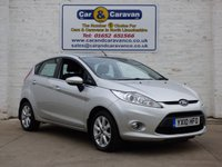 USED 2010 10 FORD FIESTA 1.4 ZETEC 16V 5d 78 BHP Low Mile Full Service History