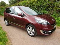 USED 2012 62 RENAULT SCENIC 1.5 GRAND DYNAMIQUE TOMTOM ENERGY DCI S/S 5d 110 BHP **£20 ROAD FUND**EXTENSIVE HISTORY**SUPERB DRIVE**
