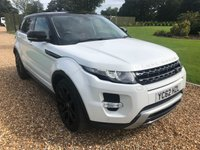 USED 2012 62 LAND ROVER RANGE ROVER EVOQUE 2.2 SD4 DYNAMIC LUX 5d AUTO 190 BHP HEATED LEATHER, SATNAV, REVERSE CAMERA