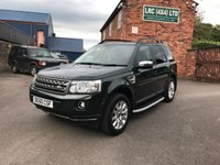 USED 2011 60 LAND ROVER FREELANDER 2.2 TD4 S 5d AUTO 150 BHP Low mileage vehicle with ££££ of extras