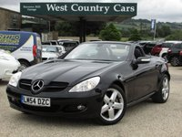 USED 2004 54 MERCEDES-BENZ SLK 3.5 SLK350 2d AUTO 269 BHP Well Cared For SLK350