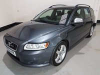 USED 2009 59 VOLVO V50 2.0 D R-DESIGN 5d 136 BHP Heated leather Seats/Bluetooth/Cruise-Con/Park Assist