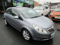 USED 2007 07 VAUXHALL CORSA 1.4 DESIGN 3d 90 BHP JUST ARRIVED TEST DRIVE TODAY