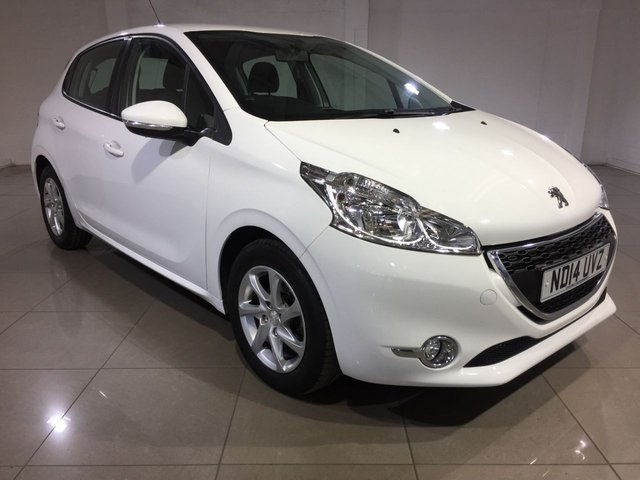 View our 2014 14 PEUGEOT 208 1.4 E-HDI ACTIVE 5d AUTO 68 BHP
