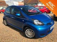 2009 TOYOTA AYGO 1.0 BLUE VVT-I 5d AUTO 67 BHP £4995.00