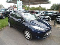 2011 FORD FIESTA 1.2 EDGE 5d 59 BHP £4295.00