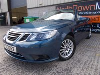 USED 2009 SAAB 9-3 1.8 LINEAR SE T 2d 150 BHP FSH, Superb Condition,  Low Rate Finance Available