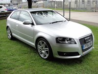 USED 2012 61 AUDI A3 2.0 TDI S LINE S/S 3d AUTO 168 BHP ANY PART EXCHANGE WELCOME, COUNTRY WIDE DELIVERY ARRANGED CAT +D+ 12 MONTHS WARRANTY
