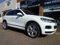 2013 VOLKSWAGEN TOUAREG 3.0 V6 ALTITUDE TDI BLUEMOTION TECHNOLOGY 5d AUTO 242 BHP £21495.00