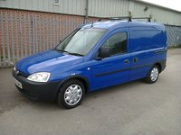 USED 2003 53 VAUXHALL COMBO 1700 DTI 2000KG