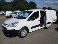 USED 2010 10 CITROEN BERLINGO 750LX LWB WITH AIR-CON & ELECTRIC PACK FROM THE RSPCA