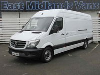 USED 2014 64 MERCEDES-BENZ SPRINTER 313 CDI LWB Hi Roof 2.1 130 BHP 2014 (64) Plate White