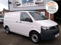 USED 2012 12 VOLKSWAGEN TRANSPORTER 2.0 T28 TDI BLUEMOTION TECHNOLOGY AIR CON SAT NAV CRUISE 1 OWNER, 12 MONTH RAC WARRANTY, 12 MONTH MOT, PX WELCOME