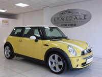 2005 MINI HATCH COOPER 1.6 COOPER 3d 114 BHP £2490.00