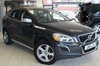 USED 2011 11 VOLVO XC60 2.0 D3 R-DESIGN 5d AUTO 161 BHP FULL BLACK AND CREAM LEATHER SEATS + FULL SERVICE HISTORY + CRUISE CONTROL + ELECTRIC WINDOWS + 18 INCH ALLOY + ELECTRIC MIRRORS + AIR CONDITIONING