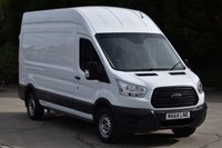 USED 2014 64 FORD TRANSIT 2.2 350 P/V 5d 125 BHP LWB RWD L3H3 EURO 5 DIESEL PANEL MANUAL VAN ONE OWNER FULL/SH SPARE KEY