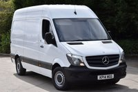 USED 2014 14 MERCEDES-BENZ SPRINTER 2.1 313 CDI MWB 5d 129 BHP EURO 5 H/ROOF RWD DIESEL MANUAL VAN ONE OWNER FULL/SH SPARE KEYS