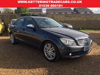 USED 2008 08 MERCEDES-BENZ C-CLASS C Class 2.1 C200 CDI SE 4dr MOT 6th November 2018 - Full Service History - 6 Months 'Momentum' Warranty Included