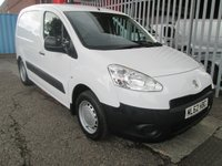 2012 PEUGEOT PARTNER 625 1.6 HDi S *SIDE LOADING DOOR*AIR CON* £4995.00