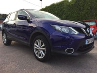 USED 2014 14 NISSAN QASHQAI 1.5 DCI ACENTA SMART VISION 5d ..1 PRIVATE OWNER FROM NEW  NO DEPOSIT PCP/HP FINANCE ARRANGED, APPLY HERE NOW