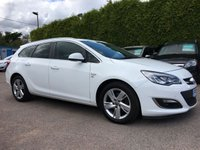 USED 2013 13 VAUXHALL ASTRA 2.0 SRI CDTI 5d AUTOMATIC 163 BHP 1 PRIVATE OWNER FROM NEW  NO DEPOSIT PCP/HP FINANCE ARRANGED, APPLY HERE NOW.