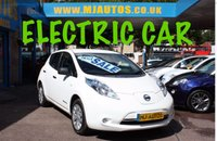 USED 2014 14 NISSAN LEAF 0.0 VISIA 5dr AUTO 109 BHP FINANCE AVAILABLE FROM 4% FLAT RATE