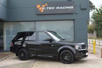 USED 2010 10 LAND ROVER RANGE ROVER SPORT 3.0 TDV6 HSE 5d AUTO 245 BHP AUTOBIOGRAPHY STYLING, SUPERB CONDITION, JUST SERVICED, NEW MOT, GREAT SPECIFICATION