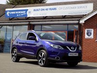 USED 2015 65 NISSAN QASHQAI 1.5 DCi N-TEC PLUS 5dr * Pan Roof & Sat Nav * *ONLY 9.9% APR with FREE Servicing*