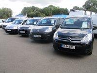 2011 CITROEN BERLINGO CHOICE OF 10 3 SEAT CAB LX & ENTERPRISE MODELS IN VARIOUS COLOURS £4745.00