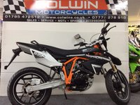 USED 2017 17 SINNIS Apache SMR SINNIS APACHE SMR 125cc BRAND NEW & IN STOCK NOW!!!