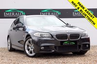 """USED 2011 61 BMW 5 SERIES 2.0 520D M SPORT TOURING 5d AUTO 181 BHP **£0 DEPOSIT FINANCE AVAILABLE**SECURE WITH A £99 FULLY REFUNDABLE DEPOSIT** NAVIGATION PROFESSIONAL, BLUETOOTH CONNECTION, FULL LEATHER, HEATED FRONT SEATS, CRUISE CONTROL, PARKING ASSIST WITH SENSORS FRONT & REAR, DUAL CLIMATE CONTROL, AIR CONDITIONING, MULTI-FUNCTIONAL STEERING WHEEL, 18"""" ALLOYS, ELECTRIC WINDOWS"""