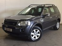 USED 2011 11 LAND ROVER FREELANDER 2 2.2 TD4 GS 5d 150 BHP FACELIFT ONE PREV OWNER PDC FSH NO FINANCE REPAYMENTS FOR 2 MONTHS STC. 4WD. FACELIFT MODEL. STUNNING GREY MET WITH BLACK CLOTH TRIM. CRUISE CONTROL. 17 INCH ALLOYS. COLOUR CODED TRIMS. PARKING SENSORS. BLUETOOTH PREP. AIR CON. TRIP COMPUTER. R/CD PLAYER. 6 SPEED MANUAL. MFSW. MOT 08/18. ONE PREV OWNER. FULL SERVICE HISTORY. FCA FINANCE APPROVED DEALER. TEL 01937 849492.