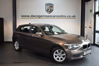 USED 2014 63 BMW 1 SERIES 1.6 114D ES 5DR 94 BHP + FULL SERVICE HISTORY + 1 OWNER FROM NEW + DAB RADIO + AUXILIARY PORT + AIR CONDITIONING + 16 INCH ALLOY WHEELS +