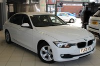 USED 2013 63 BMW 3 SERIES 2.0 320D EFFICIENTDYNAMICS 4d AUTO 161 BHP FULL SERVICE HISTORY + BLACK CLOTH SEATS  + BLUETOOTH + DAB RADIO + ELECTRIC WINDOWS + CRUISE CONTROL + 16INCH ALLOY